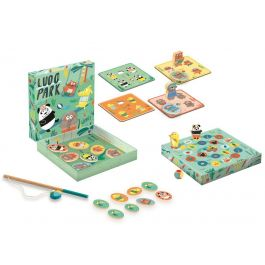 9215df73646d Djeco Singapore - Ludopark 4-in-1 Game For Tots (1698)