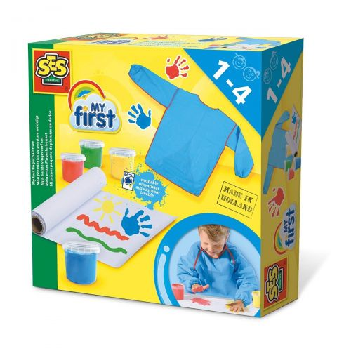 Ses Creative Singapore My First Finger Paint Set 14417 The