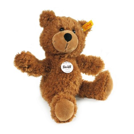 CHARLY DANGLING TEDDY BEAR, BROWN (30CM)