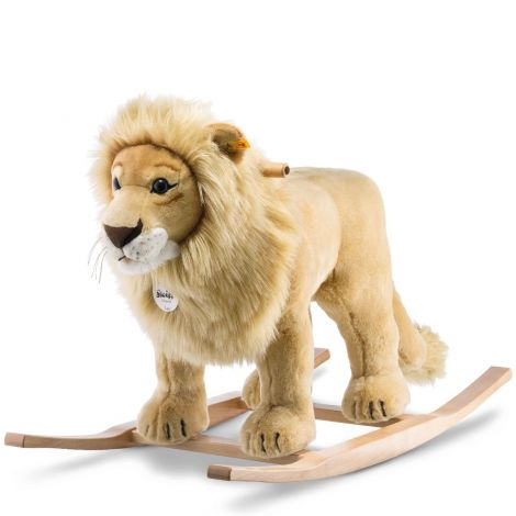 LEO PLUSH ROCKING LION