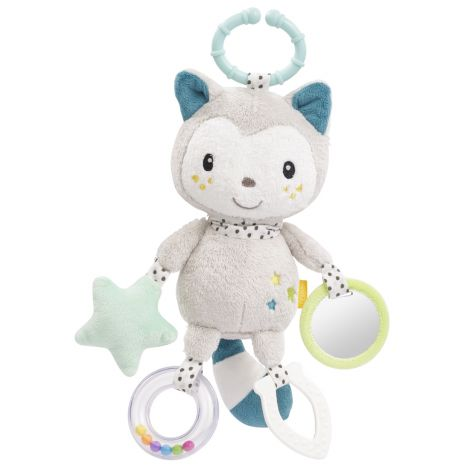 YUKI CAT MULTI-SENSORY ACTIVITY PLUSH