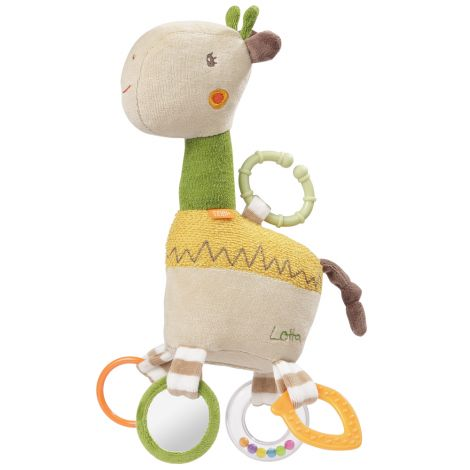 LOTTA GIRAFFE MULTI-SENSORY ACTIVITY PLUSH