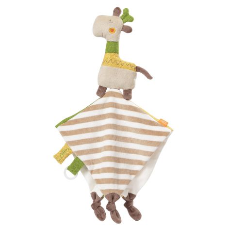LOTTA GIRAFFE DELUXE SECURITY BLANKET