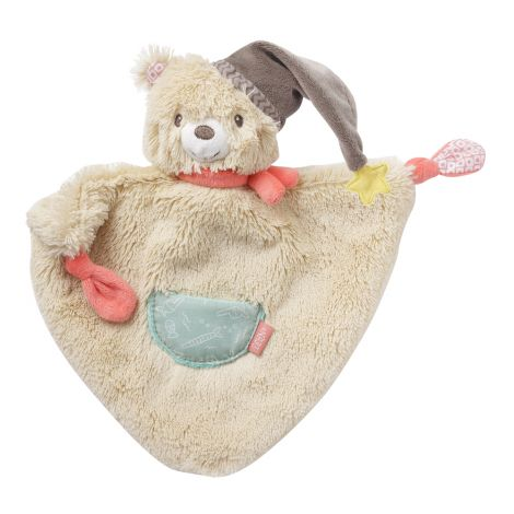 BRUNO BEAR SECURITY BLANKET