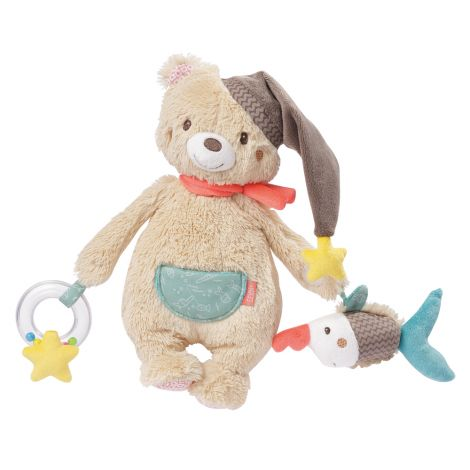 BRUNO BEAR MULTI-SENSORY ACTIVITY PLUSH