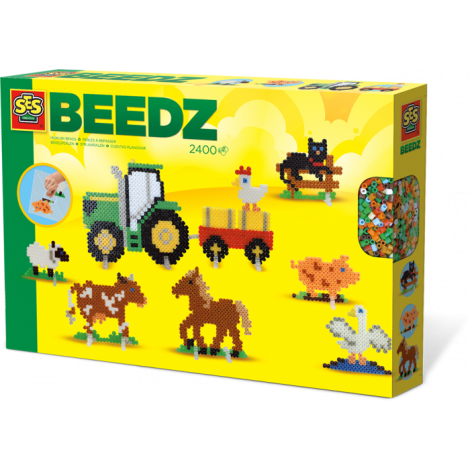 IRON-ON BEADS ACTIVITY SET: FARM