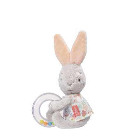 SWAN LAKE HARE RING RATTLE SHAKER