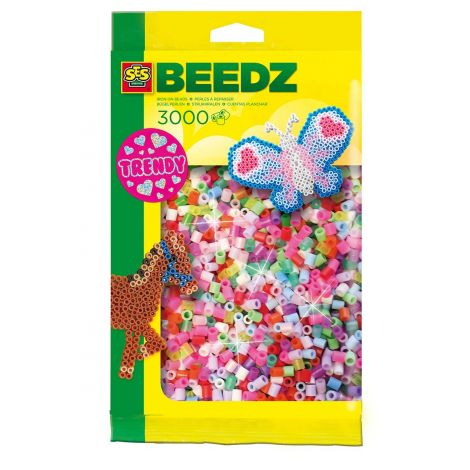 IRON-ON BEADS PACK REFILL - 3000PCS, SWEET
