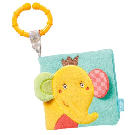 ELEPHANT SENSORY CLOTH BOOK