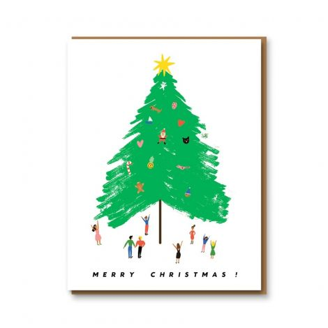 GIANT TREE GREETING CARD, BY CAROLYN SUZUKI