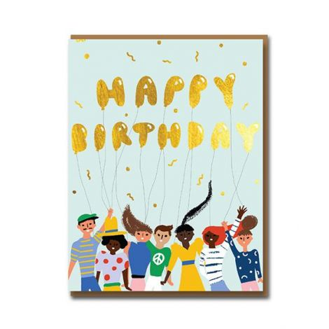 TOMODACHI BIRTHDAY GREETING CARD, BY CAROLYN SUZUKI