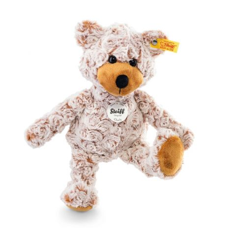 CHARLY DANGLING TEDDY BEAR, RUSSET-TIPPED (28CM)