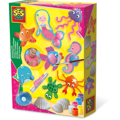SHELL PAINTING ACTIVITY SET