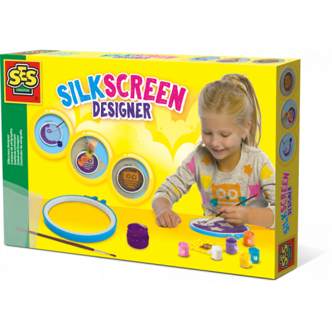 SILKSCREEN DESIGNER ACTIVITY SET