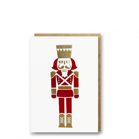 NUTCRACKER MINI HOLIDAY GREETING CARDS, BY 1973 (SET OF 6)