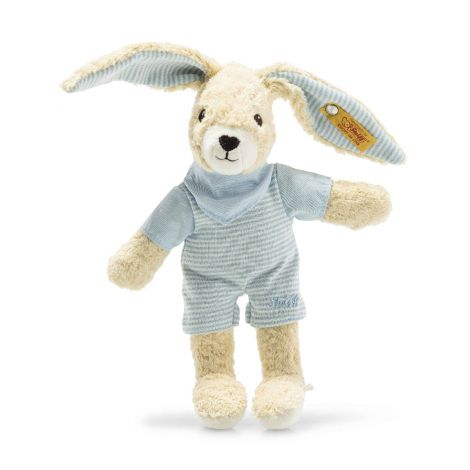 HOPPEL RABBIT ORGANIC COTTON PLUSH, BLUE (20CM)