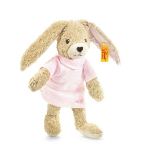 HOPPEL RABBIT ORGANIC COTTON PLUSH, PINK (20CM)