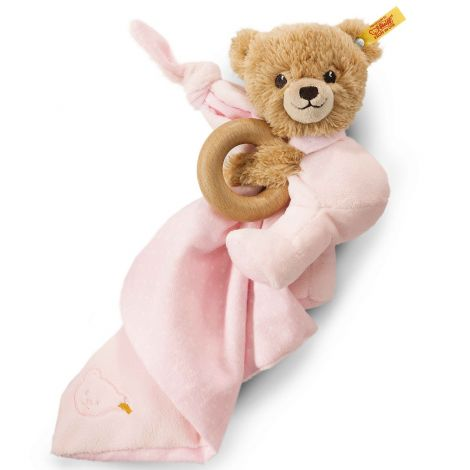 SLEEP WELL BEAR 3-IN-1 PLUSH, PINK
