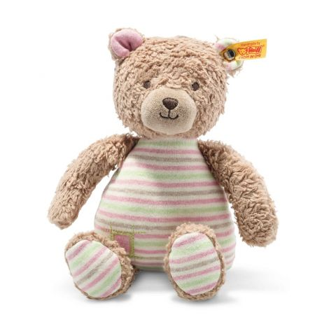ROSY TEDDY BEAR ORGANIC COTTON PLUSH (24CM)
