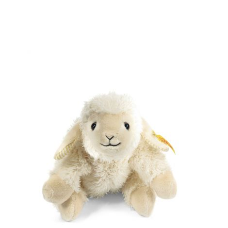 STEIFF'S LITTLE FRIENDS: LINDA LAMB FLOPPY PLUSH (16CM)