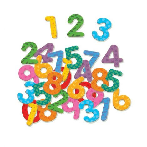 NUMBERS MAGNETICS SET (38PCS)