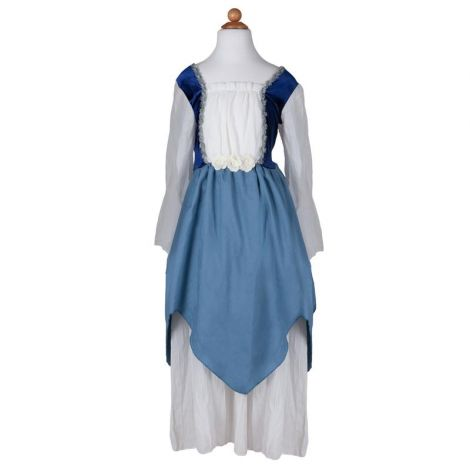 PRETTY MEDIEVAL DRESS PLAY COSTUME, BLUE (SIZE 7/8)