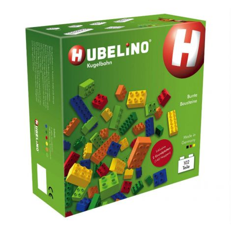 HUBELINO 102PC COLOURFUL CONSTRUCTION BRICK SET