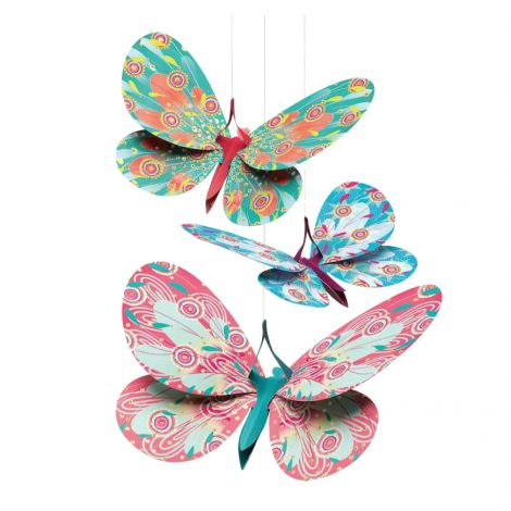 GLITTER BUTTERFLIES LIGHTWEIGHT MOBILE
