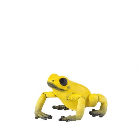 EQUATORIAL YELLOW FROG FIGURINE