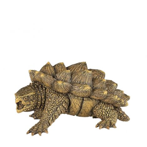 ALLIGATOR SNAPPING TURTLE FIGURINE