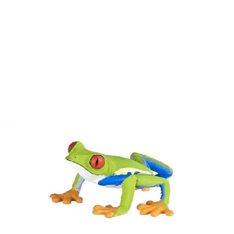 RED-EYED TREE FROG FIGURINE