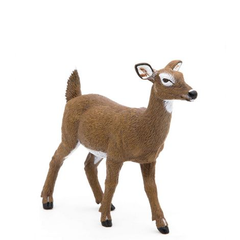 WHITE-TAILED DOE FIGURINE