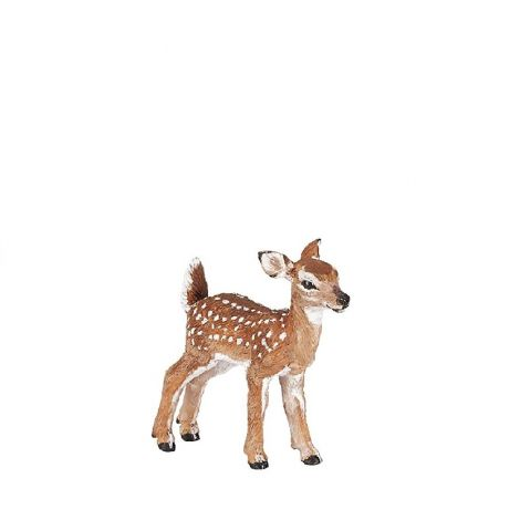 WHITE-TAILED FAWN FIGURINE