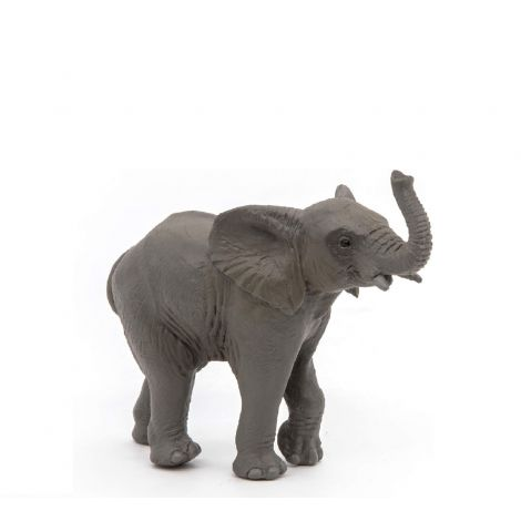 YOUNG ELEPHANT FIGURINE
