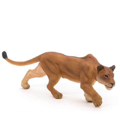 LIONESS CHASING FIGURINE