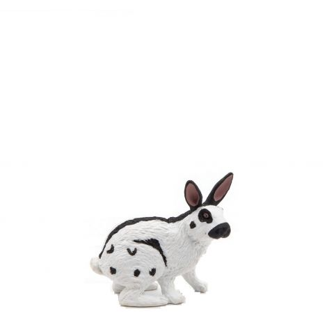 PAPILLON RABBIT FIGURINE