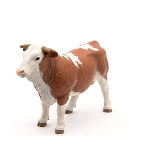 SIMMENTAL COW FIGURINE