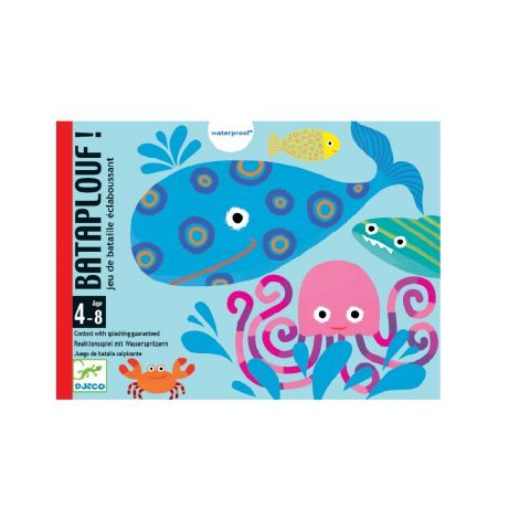 BATAPLOUF BATHTIME SNAP CARD GAME