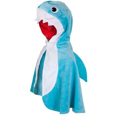 TODDLER'S SHARK CAPE (SIZE 2/3T)