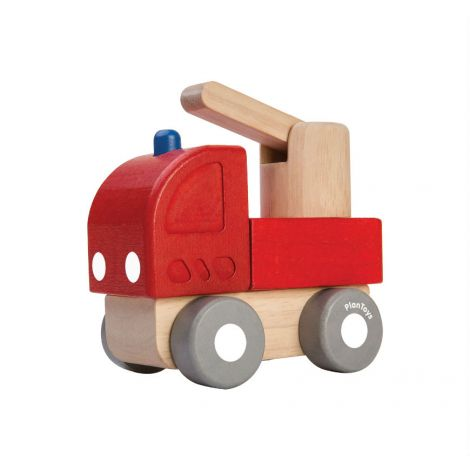 MINI FIRE ENGINE PUSH TOY