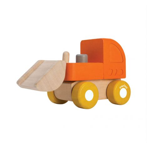 MINI BULLDOZER PUSH TOY