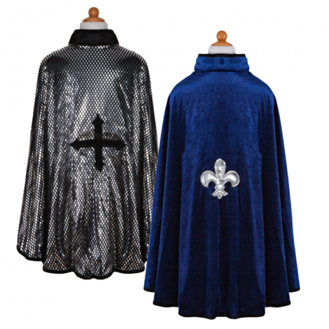 REVERSIBLE KING/KNIGHT CAPE (SIZE 5/6)