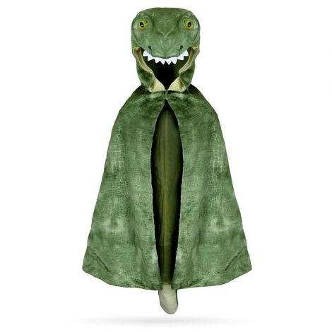HOODED T-REX DINO CAPE (SIZE 4/5)