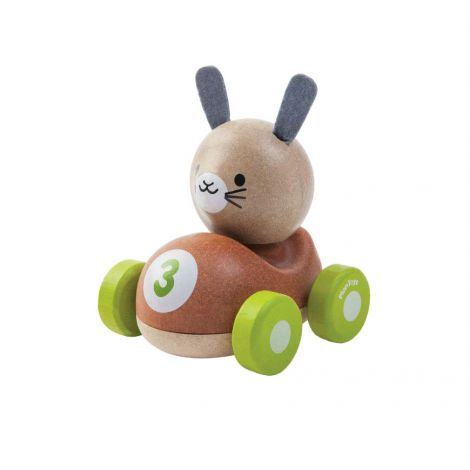 BUNNY RACER PUSH TOY
