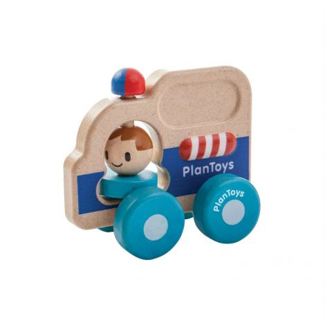 RESCUE CAR PUSH TOY