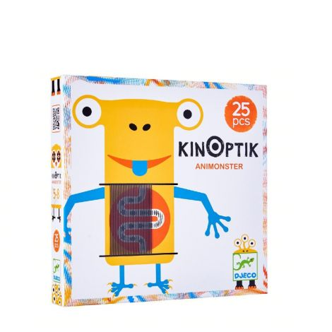 KINOPTIK ANIMATED OPTICAL ILLUSION PUZZLE: ANIMONSTER (25PC)