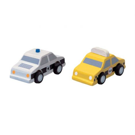 PLANWORLD™ CITY TAXI & POLICE CAR