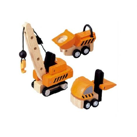 PLANWORLD™ CONSTRUCTION VEHICLES SET