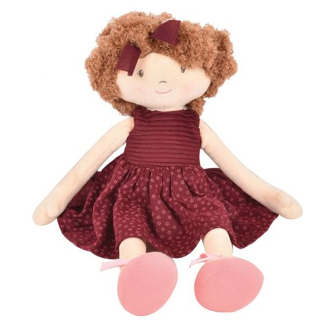 LOLA CURLY-HAIRED RAG DOLL (42CM)