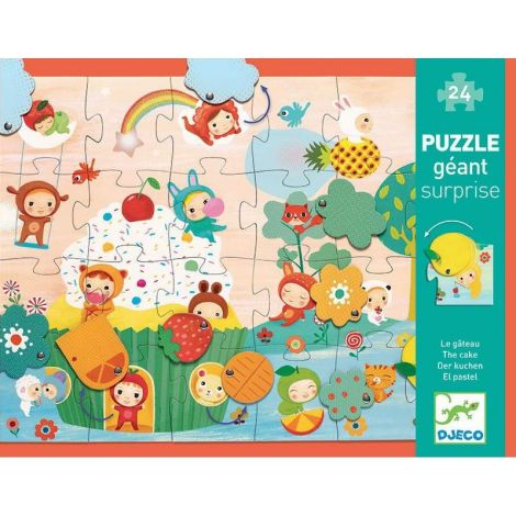 GIANT SURPRISE JIGSAW PUZZLE: THE CAKE (24PC)